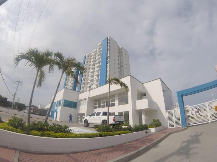 Apartamento con excelente vista al mar El Rodadero