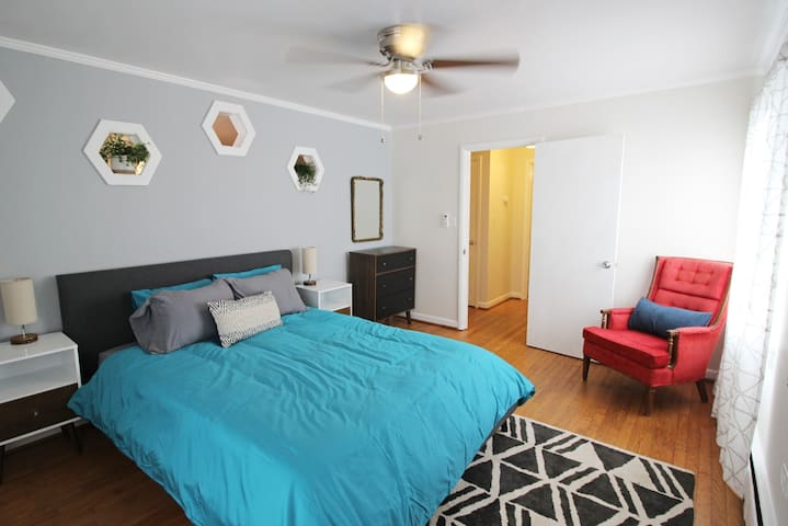 Spacious 1 bedroom in Downtown Carrboro