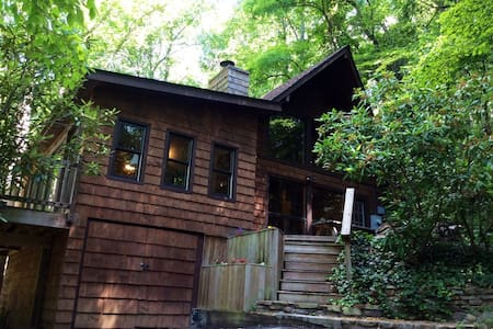 Rustic cabin 15 minutes from downtown Asheville!