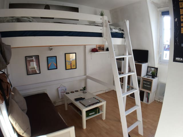 Cute studio in a calm district