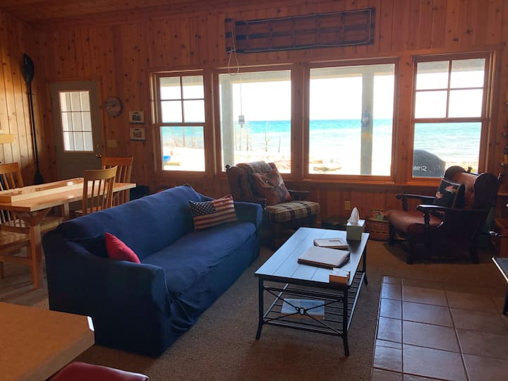 BeaverTales - a Beaver Island beach front cottage