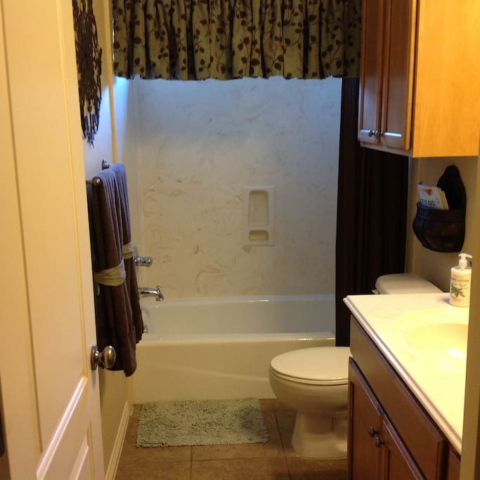 Full private bathroom