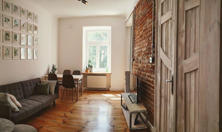 City Center Eclectic Loft Design Apartment