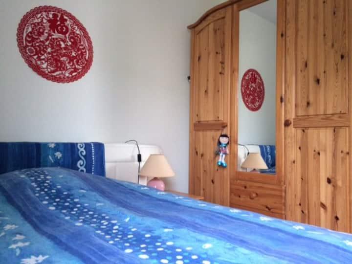 Nice room near Geneva €29/night, private bathroom