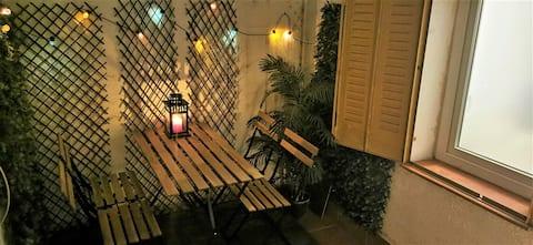 Madrid Piruli casa- Appartamento accogliente con bel patio