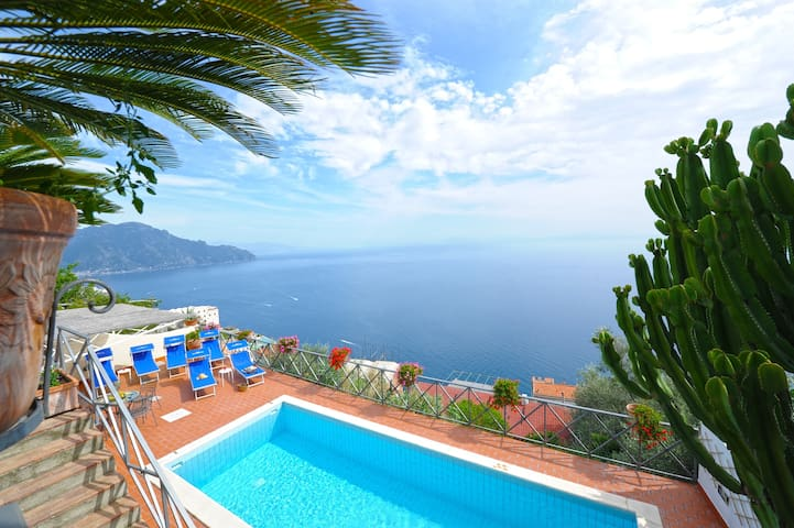 Amalfi Villas With Luxury View, Private Pool