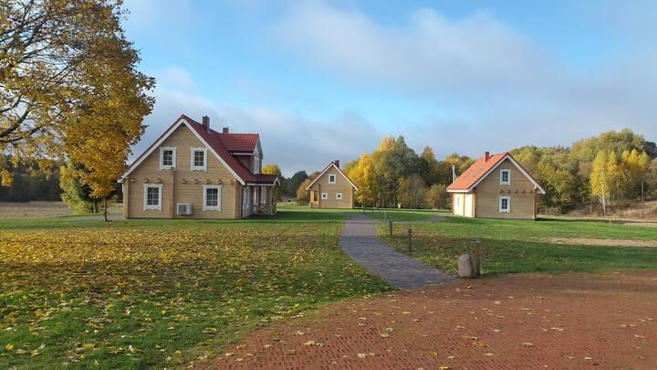 The MAIN HOUSE  place No. 1 Dvivietis