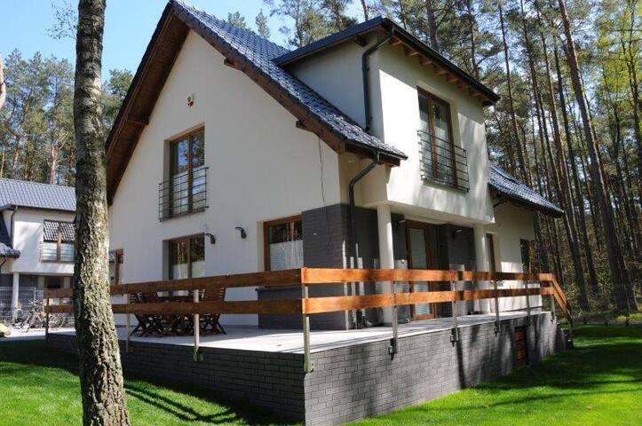 Zielony zakątek - apartament od lasu - Łukęcin - Apartment