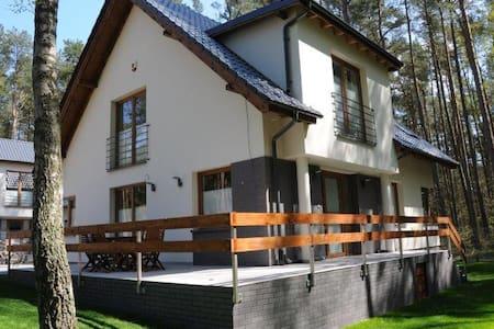 Zielony zakątek - apartament od lasu - Łukęcin - Huoneisto