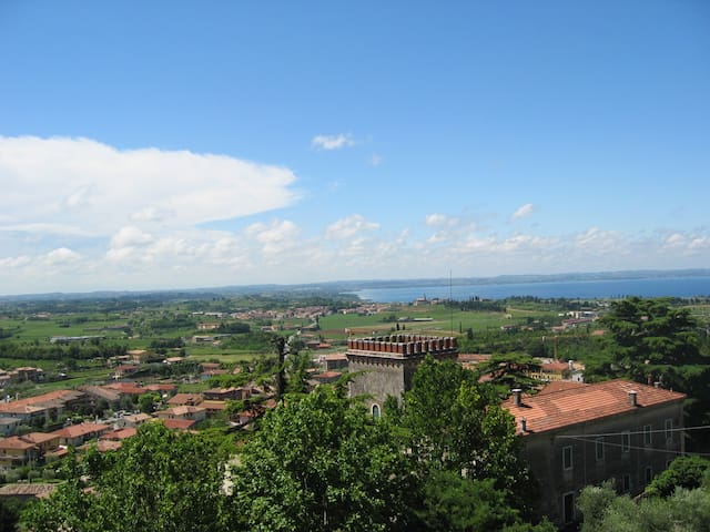 Amazing Garda lake view Villa - Cavaion Veronese - Villa