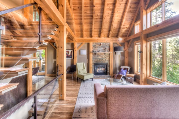 Shining Shire- high ceilings, forest views