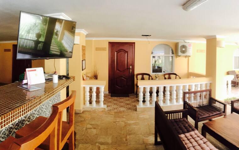 Charming studio with pool view - Phnom Penh - House
