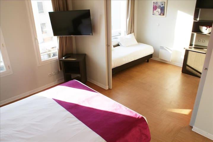 Joli appartement (3 adultes) 33 m2