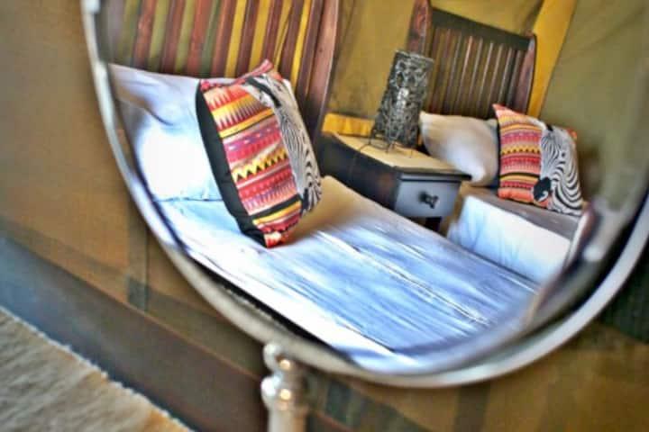 Luxury Safari Tent Shala Mushe Tented Camp & Lodge