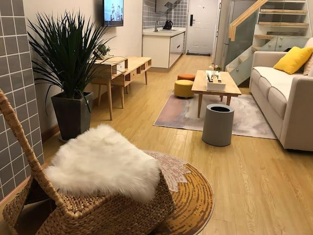 莉莉·民宿-新天地Loft公寓