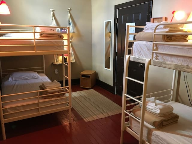 Anonymous Bunk at the Morguen Toole Co. Hotel