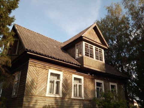 Деревенский дом с элементами городского комфорта
