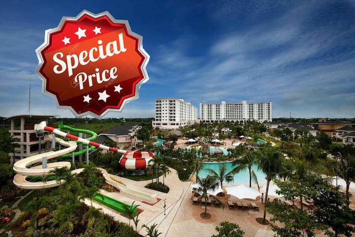 SPECIAL PRICE!✨ 2BR Suite at Jpark Resort Mactan
