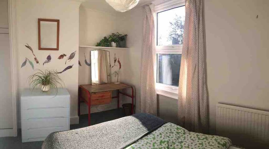 A delightful and sunny, double room...