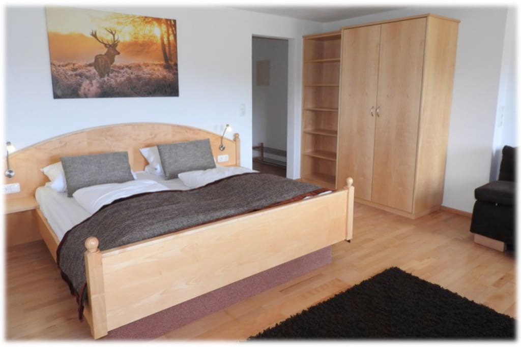 Our Alpspitz large double room