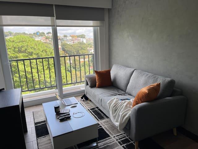 Apartamento moderno con vista a la ciudad