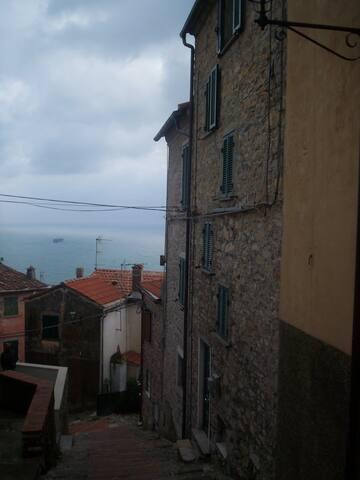 In collina fra gli ulivi vista mare - Lerici - Apartment