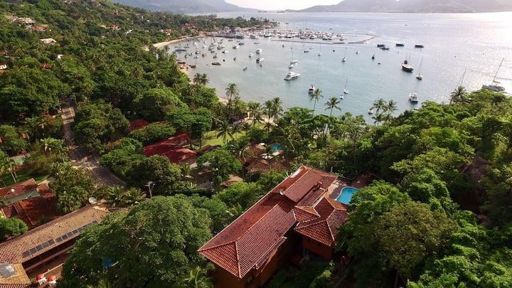 Ilhabela Suite05 Orquidea-veja o mar e seja  feliz