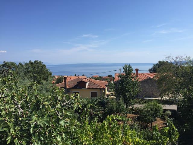 Sonnige Private Villa in Opatija, mit Meerblick - Poljane - Villa