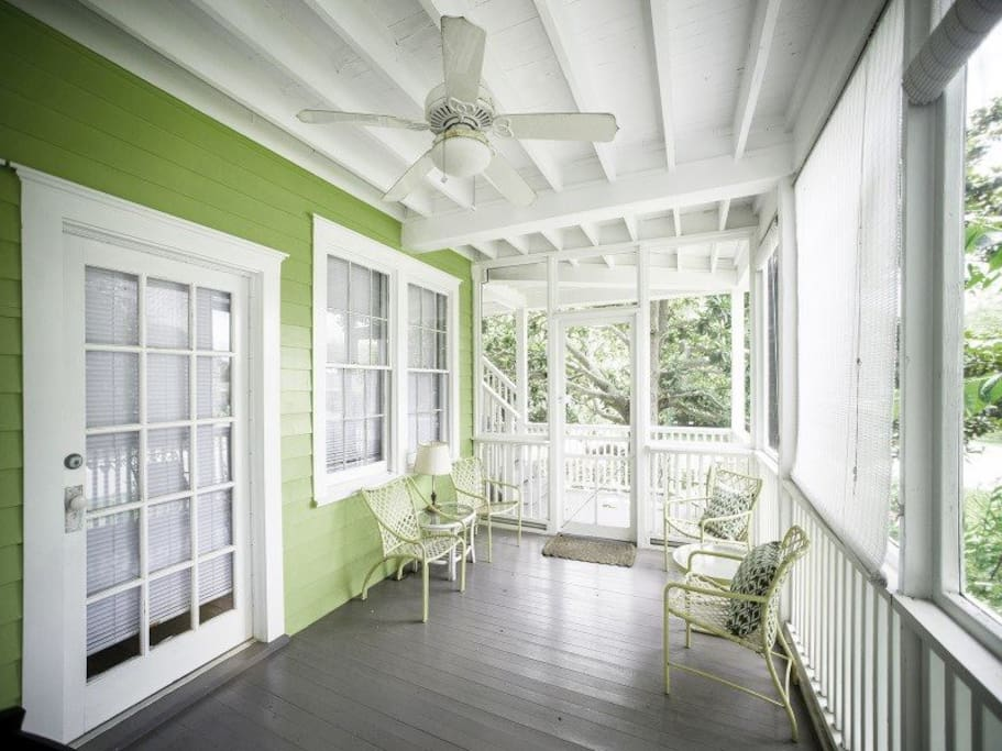 Large Screened Porch on Main Floor