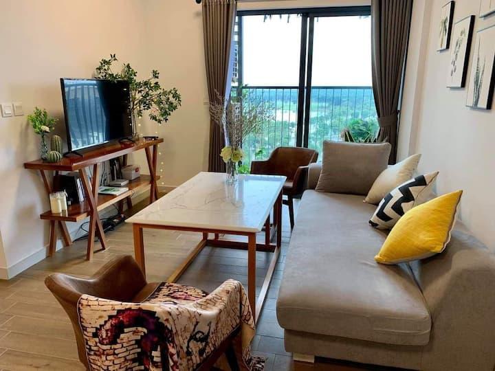 Honey homestay - nice view ecopark apartment
