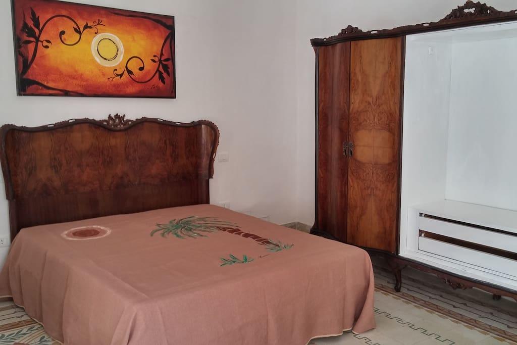 La camera da letto di piano primo