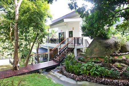 2 Bedroom - Waterfall, Sea/Jungle View Villa