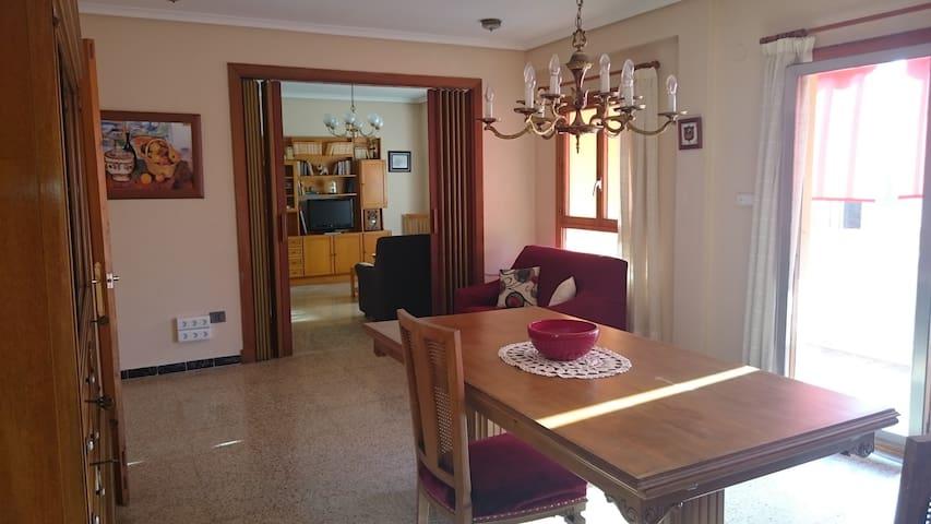 Amplio y luminoso apartamento - Carcaixent