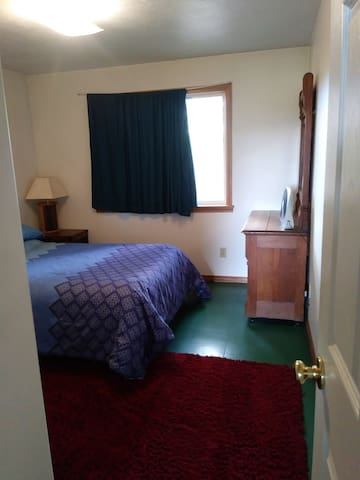 Bedroom has one double size bed