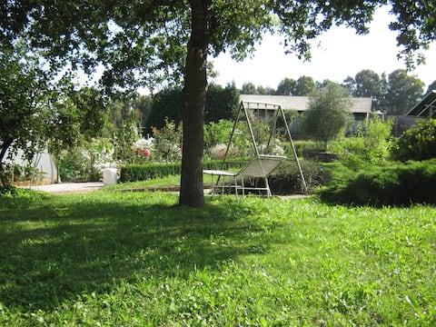 Campsite in Melide, Camino de Santiago