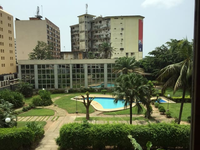 Bel appartement 2 pieces au Plateau - Abidjan - Appartement