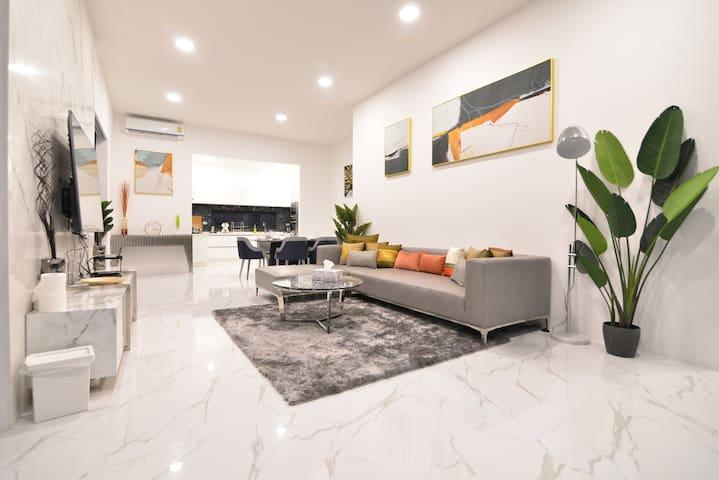 [New] Villa Pattaya Post-modern /group/share pool