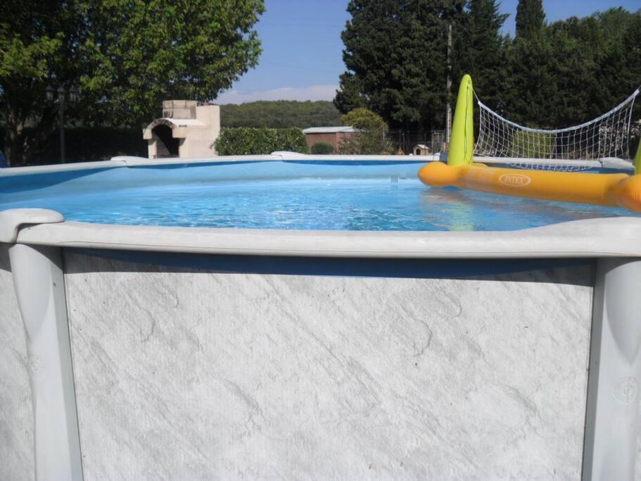 piscine autoportée en fonction de mai à octobre