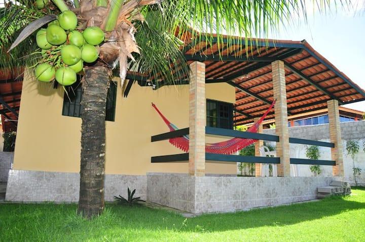 Casa em Condomínio Fechado, Frente ao Mar, Jacumã.