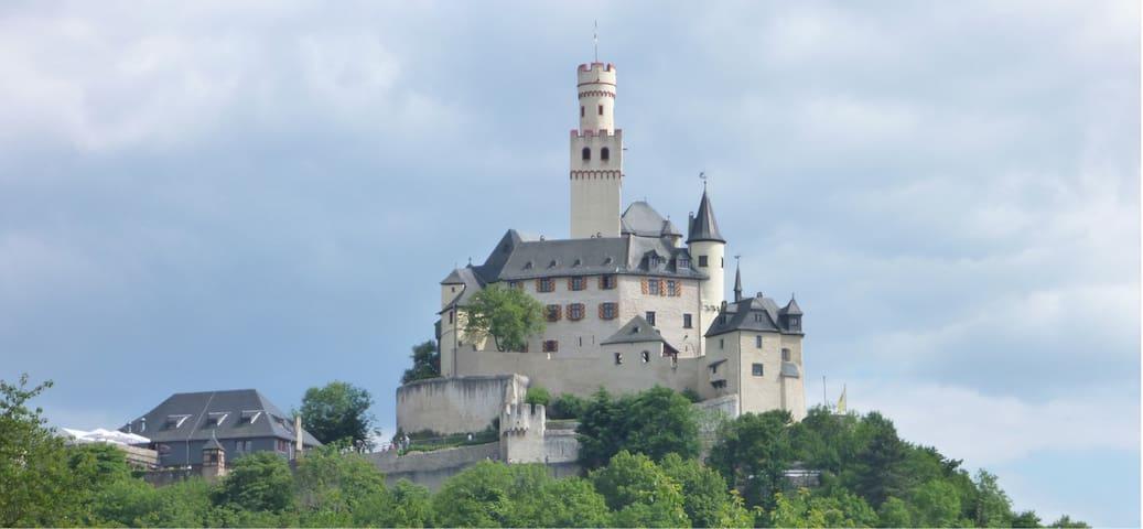 FeWo in Braubach unterhalb der Marksburg II