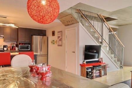 New Luxury Condo Air conditioning Private garage - Montréal - Reihenhaus