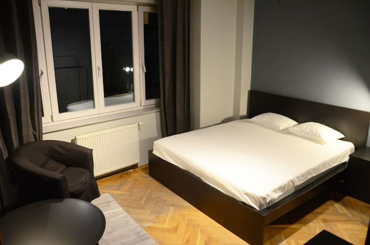 One bedroom with private bathroom - Prag - Wohnung