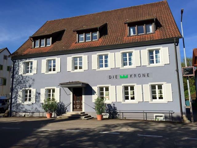 Die KRONE - Hotel Garni, (Kirchzarten), Einzelzimmer