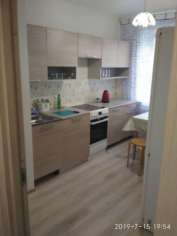 Уютная квартира в Янино