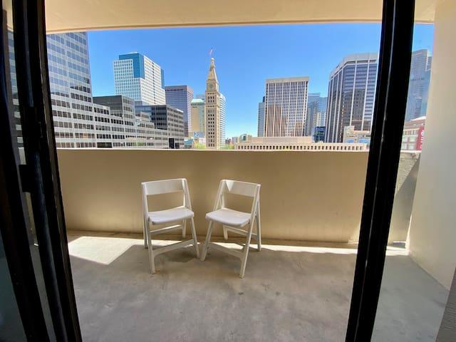 Clocktower view! Downtown 2x2: Brooks Tower 5E