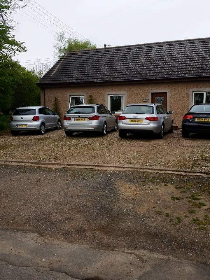 Quiet rural area with village hall amenities
