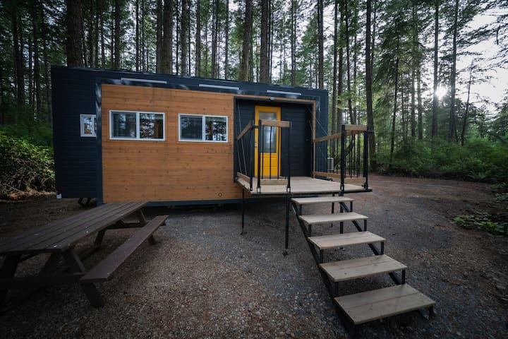 Tiny house - Rebecca Spit (Quadra) -
