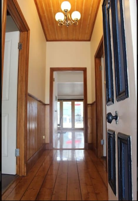 Front door - looking into the house