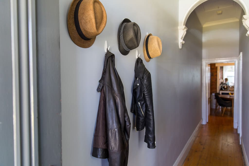 A place to hang your hat