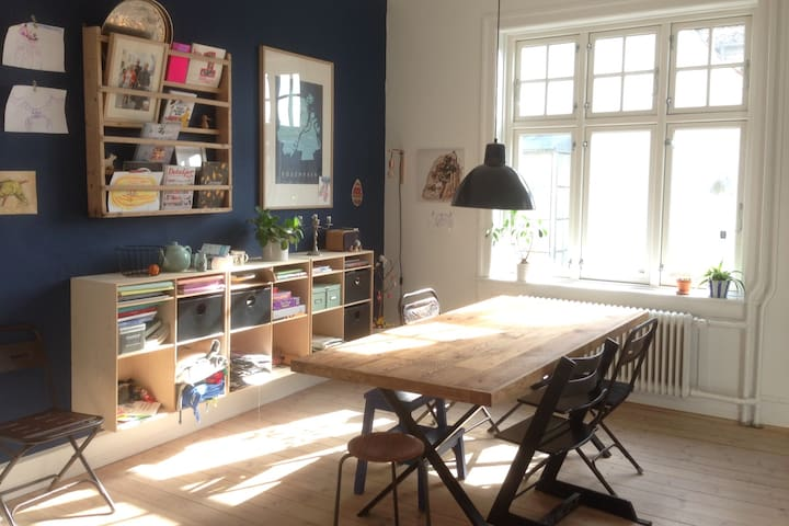 Charming home perfect for a family - Søborg - Apartemen